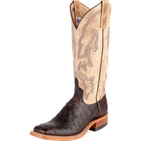 Women's Anderson Bean Brandy Sandstorm Full Quill Ostrich Cowgirl Boots