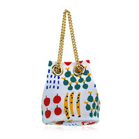 Milk & Soda Tutti Frutti Bucket Bag in White
