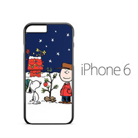 Peanuts Charlie Brown Christmas iPhone 6 Case