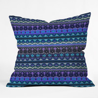 Sharon Turner Kilim Castellations Throw Pillow
