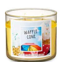 WAFFLE CONE3-Wick Candle