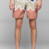 The Critical Slide Society Zigzag Boardshort - Urban Outfitters