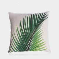 """A Touch of Green Pillow Cover 18"""" x 18"""""""