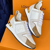 LV Louis Vuitton Woman Men Fashion Casual Sneakers Sport Shoes