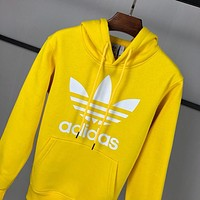 """Adidas"" Women man Fashion Hooded Top Sweater Pullover Sweatshirt"