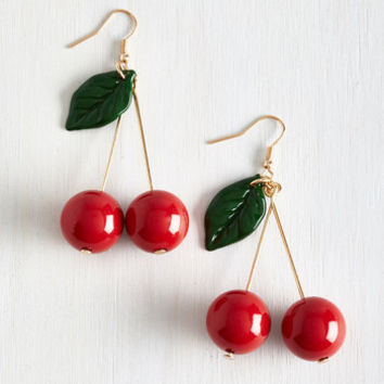 Pinup Drupe Hug Earrings by ModCloth