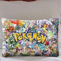 All Pokemon Considered on Decorative Pillow Covers