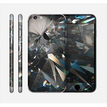 The Abstract Shattered Crystal Pattern Skin for the Apple iPhone 6