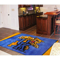 Kentucky Wildcats NCAA Floor Rug (4'x6') Wildcat Logo