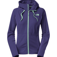 The North Face Castle Crag Hoodie for Women in Garnet Purple CTN5-CSM