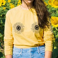 Sunflower Boobs Long Sleeve