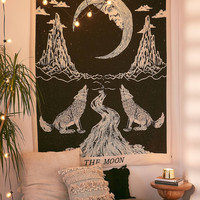 Moon Tarot Tapestry | Urban Outfitters