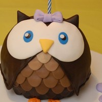 Party / Owl birthday bake