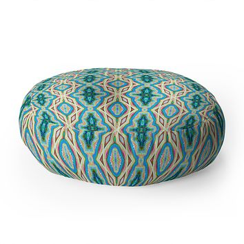 Lisa Argyropoulos Sonnet 1 Floor Pillow Round