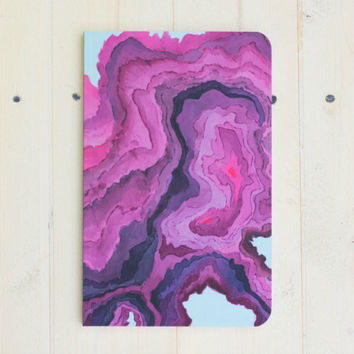 Geode Soft Cover Notebook