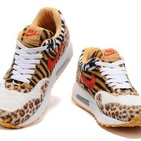 Nike Air Max 1 What The 910772 White Yellow Leopard Mosquitoes 36 40