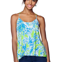 Lilly Pulitzer Maisy Printed Racerback Camisole