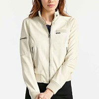 Members Only Inconi Vegan Leather Racer Jacket-