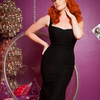 Pinup Couture Jessica Dress in Black