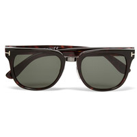 Tom Ford - Rock D-Frame Tortoiseshell Acetate Sunglasses | MR PORTER