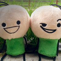 Cyanide & Happiness Green Plushy