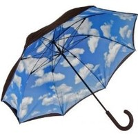 Lotus Frame Umbrella Pattern: Sky Inside