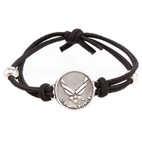 United States Air Force Logo Adjustable Bracelet