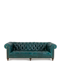 Davidson 94 Tufted Seat Chesterfield Sofa