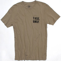 Fade Away Burn Out printed on front and back tee by Altru