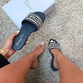 Dior Flat bottom slippers
