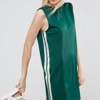 ASOS Mini Sports Dress With Low Back at asos.com