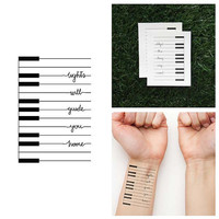 Fixie - Temporary Tattoo (Set of 2)