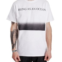 Seascape White T-Shirt : BAAO : MerchNOW - Your Favorite Band Merch, Music and More