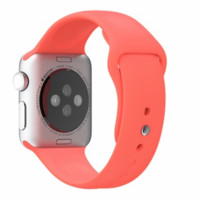 Coral Pink Apple Watch Sport Band 38mm 42mm