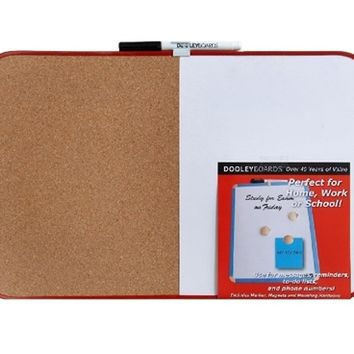 Combo cork / dry erase - 11'' x 17'' Dorm Products Best Items For College Wall Decor