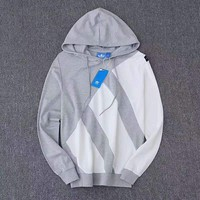 Adidas equipment print Hooded pullover Sweatshirt Sportswear top H-A-GHSY-1