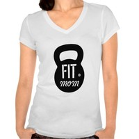 Fit Mom Simple Black Kettlebell Gym Workout