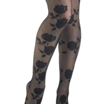 Bloom of One's Own Tights