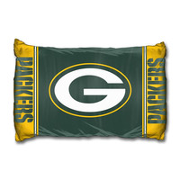 Green Bay Packers NFL 2pc Piece Pillow Case Set
