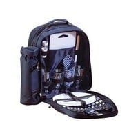 Blue 4 Place Setting Picnic Kit And Backpack Set