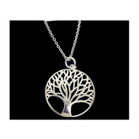 925 Silver Tree of Life Pendant Necklace Save 46%!