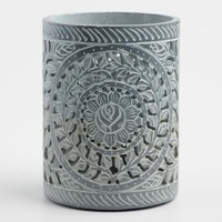 Botanical Soapstone Utensil Holder