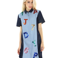 LETTERS AND NUMBERS DRESS
