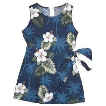hilo hawaiian girl sarong dress