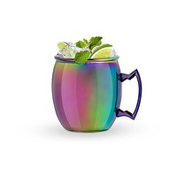 Mirage Iridescent Moscow Mule Mug by Blush