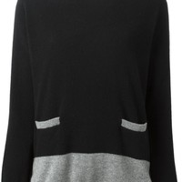 Chinti And Parker two front pocket sweater
