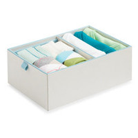 Real Simple 2-Compartment Adjustable Drawer Organizer - Bed Bath & Beyond