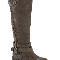 Just the Two of Adventurous Boot in Asphalt | Mod Retro Vintage Boots | ModCloth.com