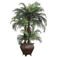 Phoenix Palms in Resin Container Faux Plant - #N6775 | LampsPlus.com