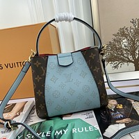 lv louis vuitton newest popular women leather handbag tote crossbody shoulder bag satchel 827